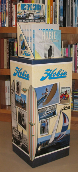 Hobie Book POP Display